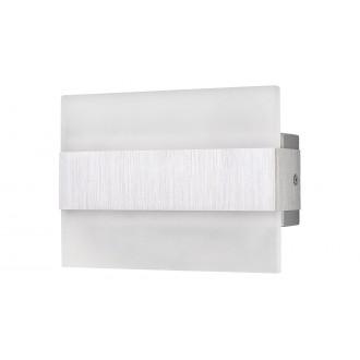 RABALUX 1440   Neville Rabalux zidna svjetiljka pravotkutnik 1x LED 180lm 3000K brušeni aluminij