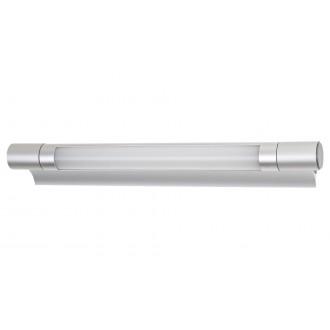 RABALUX 1444 | Byron-RA Rabalux osvjetljenje ploče svjetiljka s prekidačem 1x LED 250lm 4000K srebrno