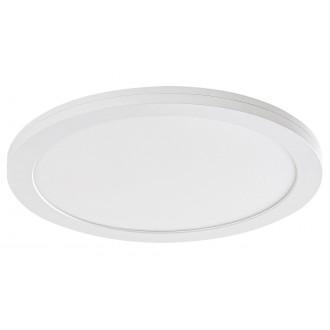 RABALUX 1489 | Sonnet Rabalux stropne svjetiljke, ugradbene svjetiljke, nadgradivo LED panel okrugli Ø225mm 1x LED 1500lm 4000K bijelo