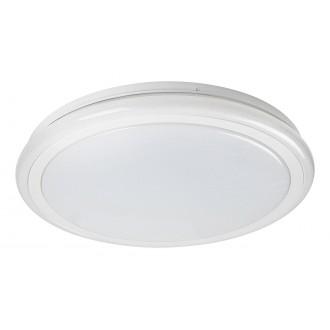 RABALUX 1510 | Leonie-RA Rabalux stropne svjetiljke svjetiljka okrugli daljinski upravljač jačina svjetlosti se može podešavati, sa podešavanjem temperature boje, promjenjive boje 1x LED 2400lm 3000 <-> 6500K bijelo, učinak kristala