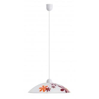 RABALUX 1800 | Iris Rabalux visilice svjetiljka 1x E27 višebojno, bijelo