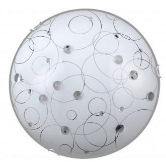 RABALUX 1862 | Jolly Rabalux zidna, stropne svjetiljke svjetiljka 2x E27 bijelo, prozirno, krom