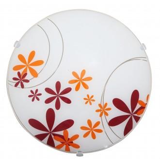 RABALUX 1896 | Iris Rabalux zidna, stropne svjetiljke svjetiljka 1x E27 višebojno, bijelo