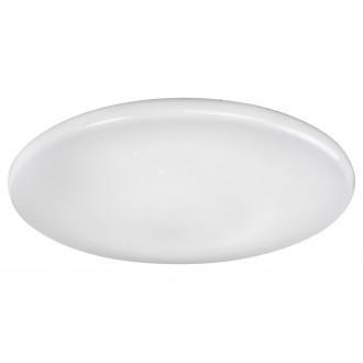 RABALUX 2105 | Willie Rabalux stropne svjetiljke svjetiljka okrugli daljinski upravljač jačina svjetlosti se može podešavati, sa podešavanjem temperature boje, promjenjive boje 1x LED 3200lm 2700 <-> 6500K bijelo, učinak kristala
