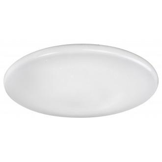 RABALUX 2106 | Willie Rabalux stropne svjetiljke svjetiljka okrugli daljinski upravljač jačina svjetlosti se može podešavati, sa podešavanjem temperature boje, promjenjive boje 1x LED 4800lm 2700 <-> 6500K bijelo, učinak kristala