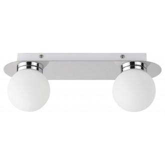 RABALUX 2111 | Becca-RA Rabalux zidna, stropne svjetiljke svjetiljka 2x G9 IP44 krom, bijelo