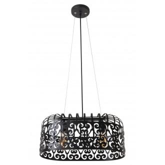RABALUX 2157 | AlessandraR Rabalux visilice svjetiljka 2x E27 crno mat