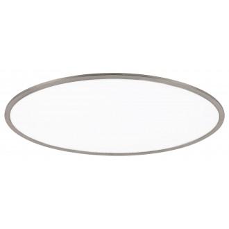 RABALUX 2180 | Taleb Rabalux stropne svjetiljke svjetiljka s impulsnim prekidačem jačina svjetlosti se može podešavati 1x LED 4200lm 3000K krom saten, bijelo