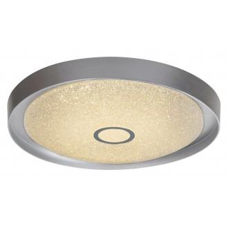 RABALUX 2297 | Skyler Rabalux stropne svjetiljke svjetiljka daljinski upravljač jačina svjetlosti se može podešavati, sa podešavanjem temperature boje 1x LED 1630lm 3000 - 4000 - 6000K krom, učinak kristala