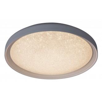 RABALUX 2299 | Esme Rabalux stropne svjetiljke svjetiljka daljinski upravljač jačina svjetlosti se može podešavati, sa podešavanjem temperature boje 1x LED 1680lm 3000 - 4000 - 6000K bijelo, svjetlucavi