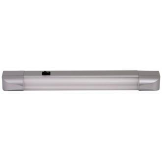 RABALUX 2306 | Band Rabalux osvjetljenje ploče svjetiljka s prekidačem 1x G13 / T8 630lm 2700K srebrno