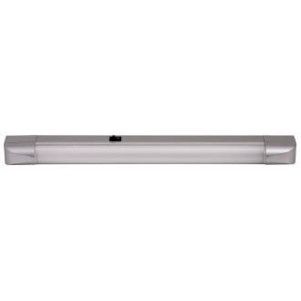 RABALUX 2307 | Band Rabalux osvjetljenje ploče svjetiljka s prekidačem 1x G13 / T8 950lm 2700K srebrno