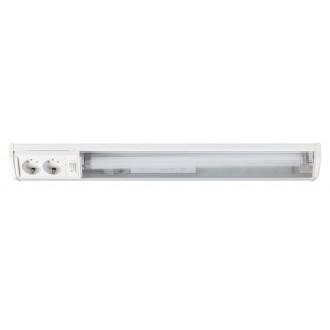RABALUX 2322 | Bath Rabalux zidna svjetiljka s prekidačem s utičnicom 1x G13 / T8 950lm 2700K bijelo