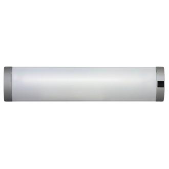 RABALUX 2328 | Soft Rabalux zidna svjetiljka s prekidačem 1x G13 / T8 630lm 2700K srebrno