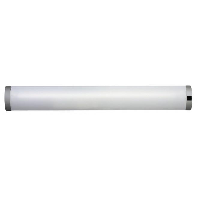 RABALUX 2329 | Soft Rabalux zidna svjetiljka s prekidačem 1x G13 / T8 1350lm 2700K srebrno