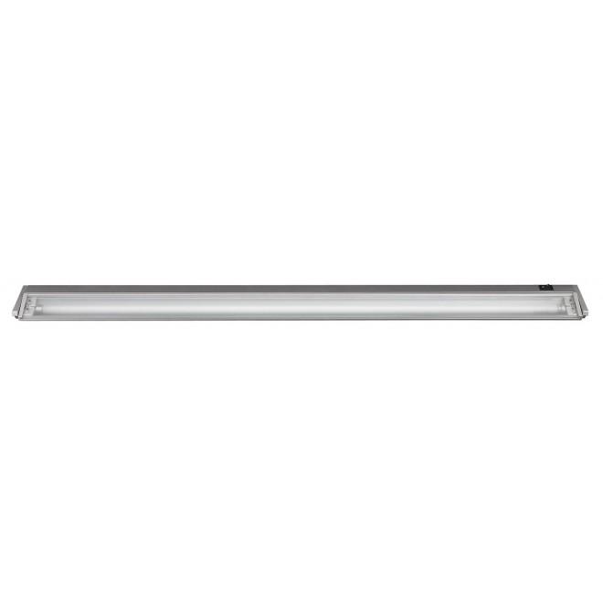 RABALUX 2366 | EasyLight Rabalux osvjetljenje ploče svjetiljka s prekidačem elementi koji se mogu okretati 1x G5 / T5 1890lm 2700K srebrno