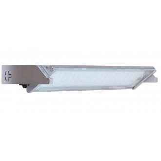 RABALUX 2367 | EasyLed Rabalux osvjetljenje ploče svjetiljka s prekidačem elementi koji se mogu okretati 1x LED 300lm 3000K srebrno