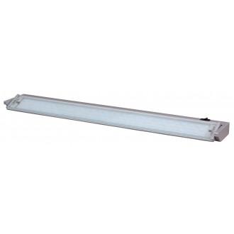 RABALUX 2368 | EasyLed Rabalux osvjetljenje ploče svjetiljka s prekidačem elementi koji se mogu okretati 1x LED 450lm 3000K srebrno