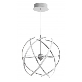 RABALUX 2433 | Alyson Rabalux visilice svjetiljka 1x LED 2765lm 3000K krom