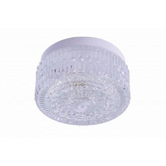 RABALUX 2435 | GraceR Rabalux zidna, stropne svjetiljke svjetiljka 1x E27 bijelo, prozirna