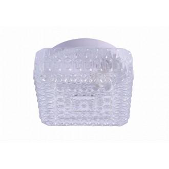 RABALUX 2436 | GraceR Rabalux zidna, stropne svjetiljke svjetiljka 1x E27 bijelo, prozirna