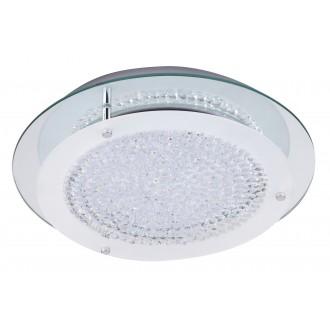 RABALUX 2447 | Marion Rabalux stropne svjetiljke svjetiljka 1x LED 1620lm 4000K krom, bijelo, prozirno