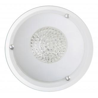 RABALUX 2464 | Patricia Rabalux stropne svjetiljke svjetiljka 2x E27 bijelo, prozirno