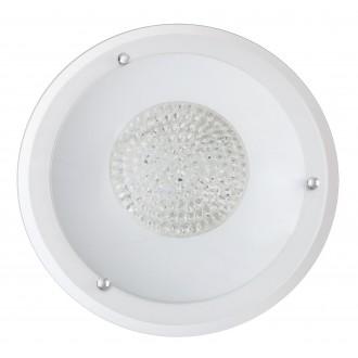 RABALUX 2465 | Patricia Rabalux stropne svjetiljke svjetiljka 3x E27 bijelo, prozirno