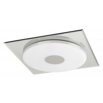RABALUX 2489 | Toledo Rabalux stropne svjetiljke svjetiljka 1x LED 1170lm 4000K krom, bijelo, svjetlucavi
