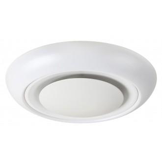 RABALUX 2492 | CalvinR Rabalux stropne svjetiljke svjetiljka daljinski upravljač jačina svjetlosti se može podešavati, sa podešavanjem temperature boje, promjenjive boje 1x LED 1400lm + 1x LED 3000 <-> 6000K bijelo