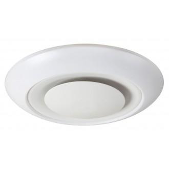 RABALUX 2493 | CalvinR Rabalux stropne svjetiljke svjetiljka daljinski upravljač jačina svjetlosti se može podešavati, sa podešavanjem temperature boje, promjenjive boje 1x LED 1900lm + 1x LED 3000 <-> 6000K bijelo