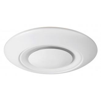 RABALUX 2494 | CalvinR Rabalux stropne svjetiljke svjetiljka daljinski upravljač jačina svjetlosti se može podešavati, sa podešavanjem temperature boje, promjenjive boje 1x LED 2800lm + 1x LED 3000 <-> 6000K bijelo