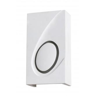 RABALUX 2519 | Gia Rabalux zidna svjetiljka sa površinom za bojanje 1x E14 bijelo