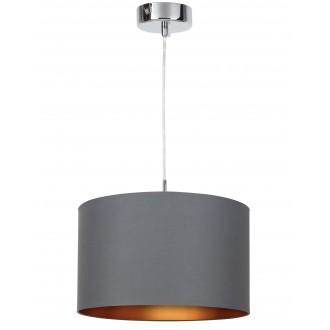 RABALUX 2526 | Monica Rabalux visilice svjetiljka 1x E27 krom, crno, zlatno