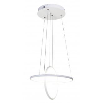 RABALUX 2544 | Donatella Rabalux visilice svjetiljka 1x LED 2300lm 4000K krom, bijelo