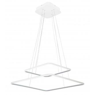 RABALUX 2546 | Donatella Rabalux visilice svjetiljka 1x LED 4777lm 4000K krom, bijelo