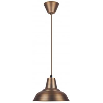 RABALUX 2614 | Madison Rabalux visilice svjetiljka 1x E27 bronca, bijelo