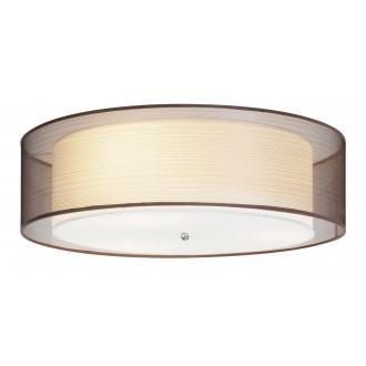 RABALUX 2634 | Anastasia Rabalux stropne svjetiljke svjetiljka 3x E14 krom, smeđe