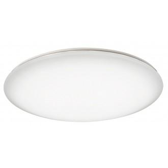 RABALUX 2638 | OllieR Rabalux stropne svjetiljke svjetiljka daljinski upravljač jačina svjetlosti se može podešavati, sa podešavanjem temperature boje 1x LED 6600lm 2700 <-> 6500K bijelo