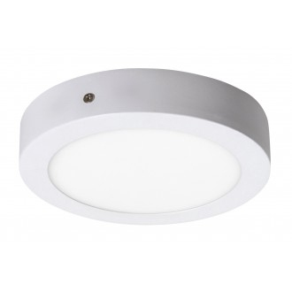 RABALUX 2655 | Lois Rabalux zidna, stropne svjetiljke LED panel okrugli 1x LED 800lm 4000K bijelo mat, bijelo