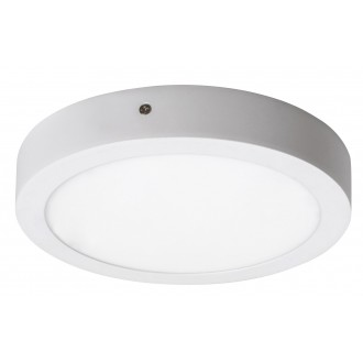 RABALUX 2656 | Lois Rabalux zidna, stropne svjetiljke LED panel okrugli 1x LED 1400lm 4000K bijelo mat, bijelo