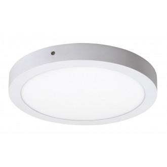 RABALUX 2657 | Lois Rabalux zidna, stropne svjetiljke LED panel okrugli 1x LED 1700lm 4000K bijelo mat, bijelo