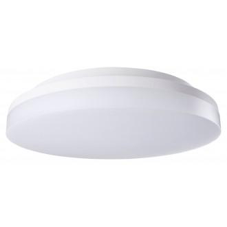RABALUX 2699 | Zenon Rabalux stropne svjetiljke svjetiljka okrugli sa senzorom sa podešavanjem temperature boje 1x LED 1800lm 3000 - 4000 - 6000K IP54 IK08 bijelo