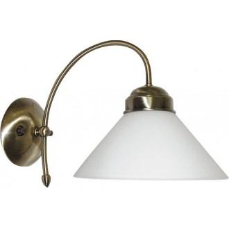 RABALUX 2701 | Marian Rabalux zidna svjetiljka 1x E27 bronca, bijelo