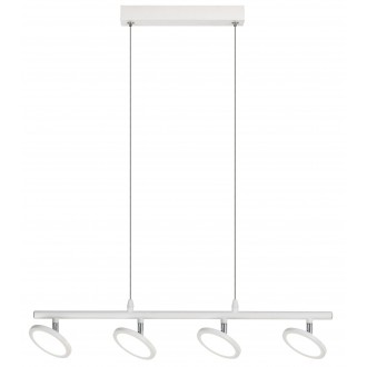 RABALUX 2716 | ElsaR Rabalux visilice svjetiljka 4x LED 1680lm 4000K bijelo mat