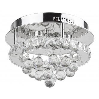 RABALUX 2734 | Asley Rabalux stropne svjetiljke svjetiljka 1x LED 2100lm 3500K krom, prozirno