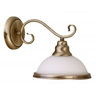 RABALUX 2751 | Elisett Rabalux zidna svjetiljka 1x E27 bronca, bijelo