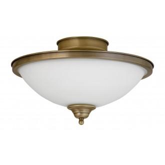 RABALUX 2759 | Elisett Rabalux stropne svjetiljke svjetiljka 2x E14 bronca, bijelo