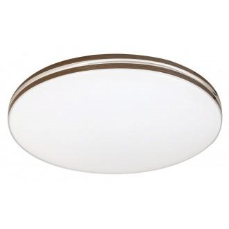 RABALUX 2763 | Oscar-RA Rabalux stropne svjetiljke svjetiljka 1x LED 1350lm 4000K bijelo, boja oraha