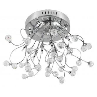 RABALUX 2825 | Amelia Rabalux stropne svjetiljke svjetiljka 10x G4 krom, prozirno